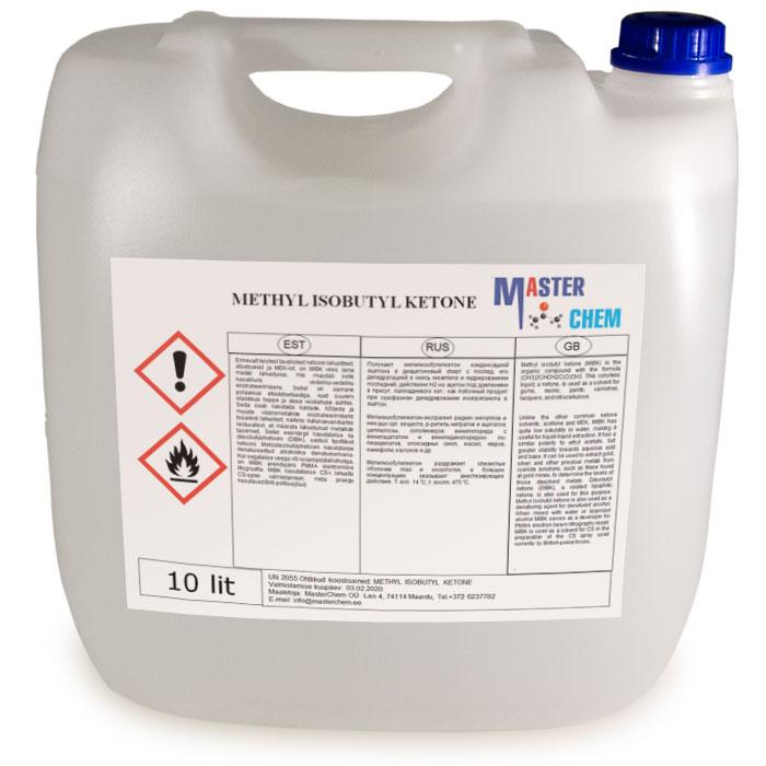 Metyyli-isobutyyliketoni 10l MaterChem