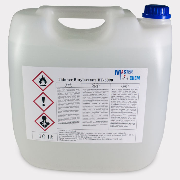 Thinner Butylacetate BT-5090 10L
