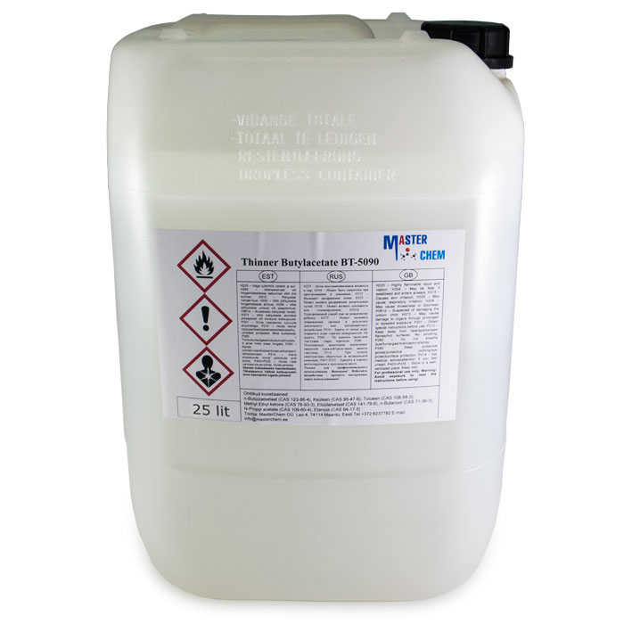 Thinner Butylacetate BT-5090 25L