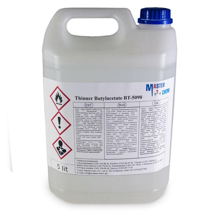 Thinner Butylacetate BT-5090 5L